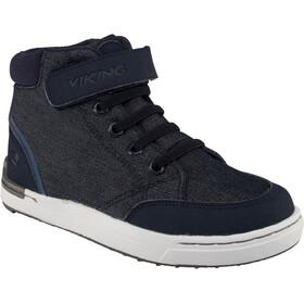 Viking Mark Mid Shoes Juniors Navy/White